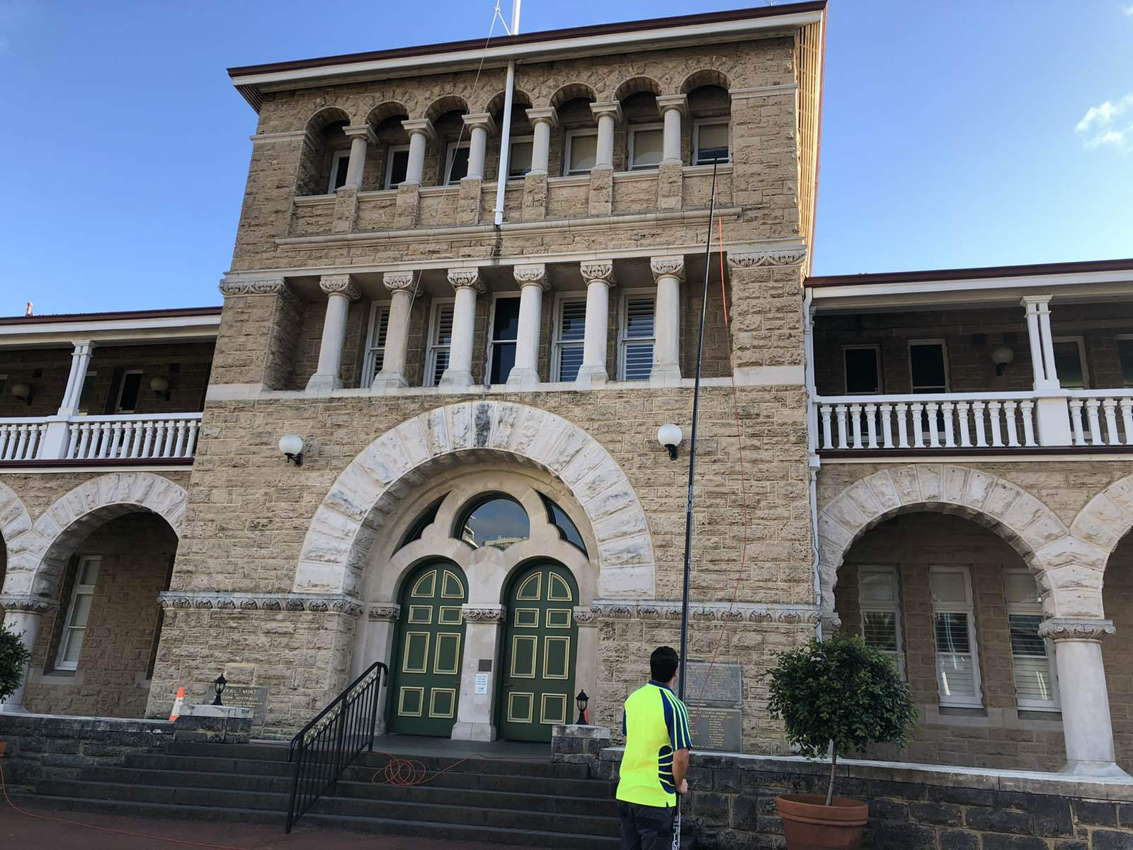 CCC Window Cleaning at Perth Mint