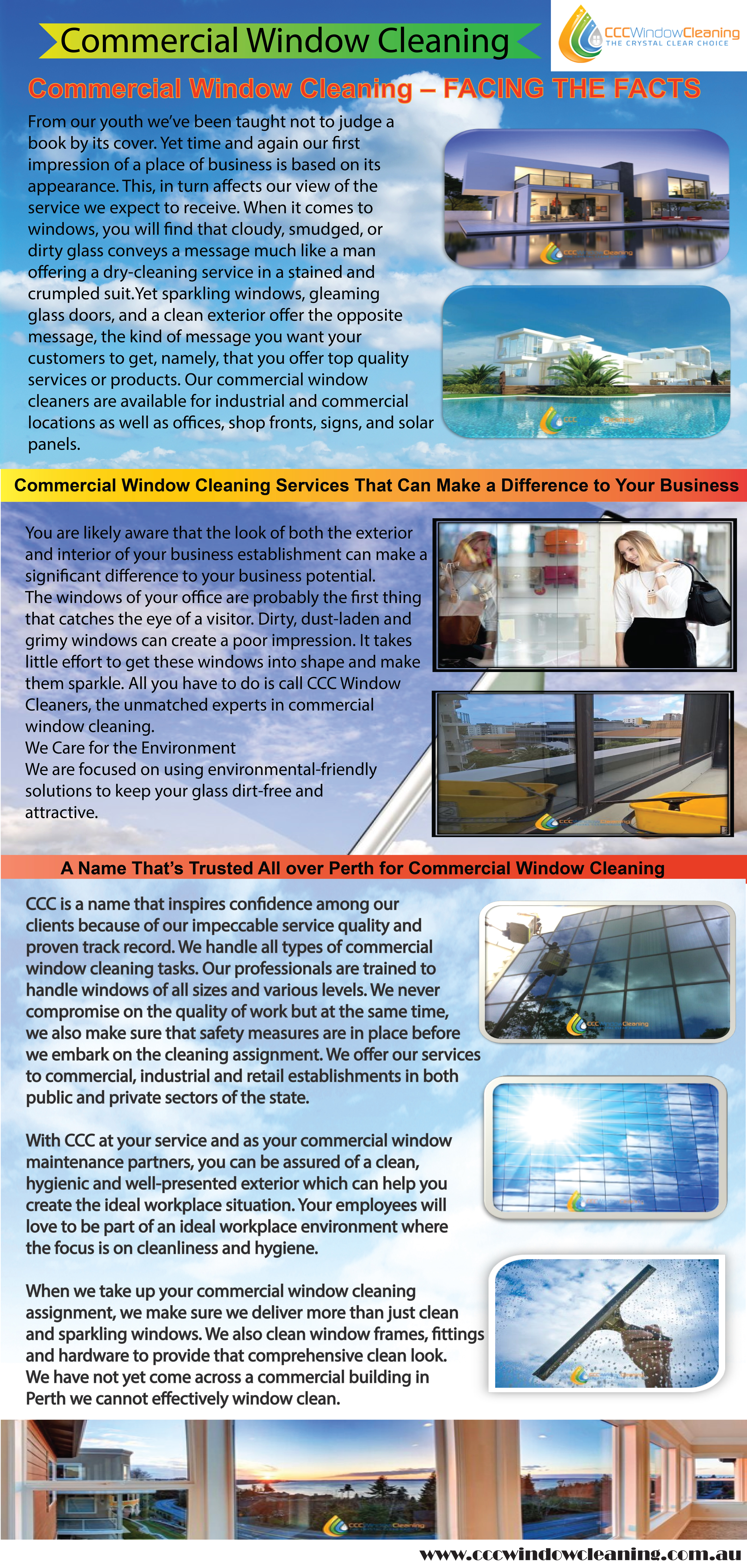 Commercial Window Cleaning Infographic