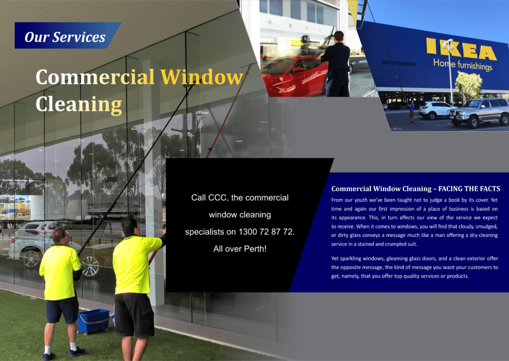 Our Services - Commercial Window Cleaning