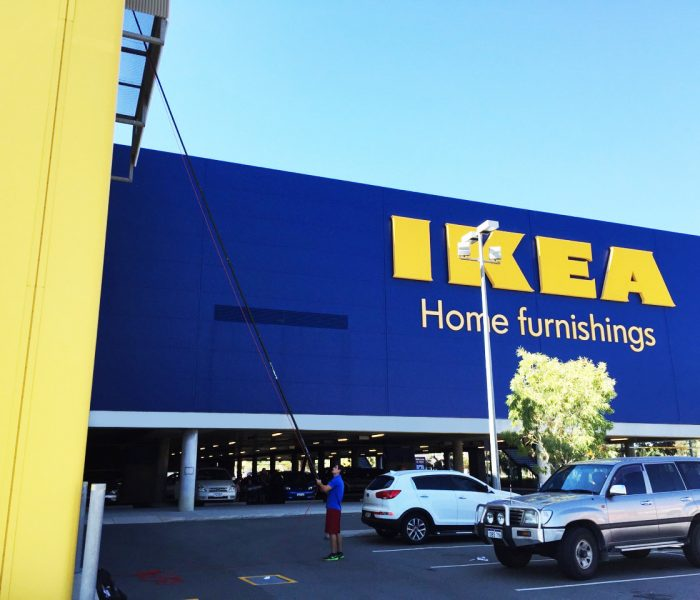 CCC Window Cleaning at IKEA, Perth