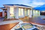 Modern Mansion With Shining Windows