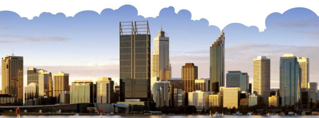 perth city skyline image