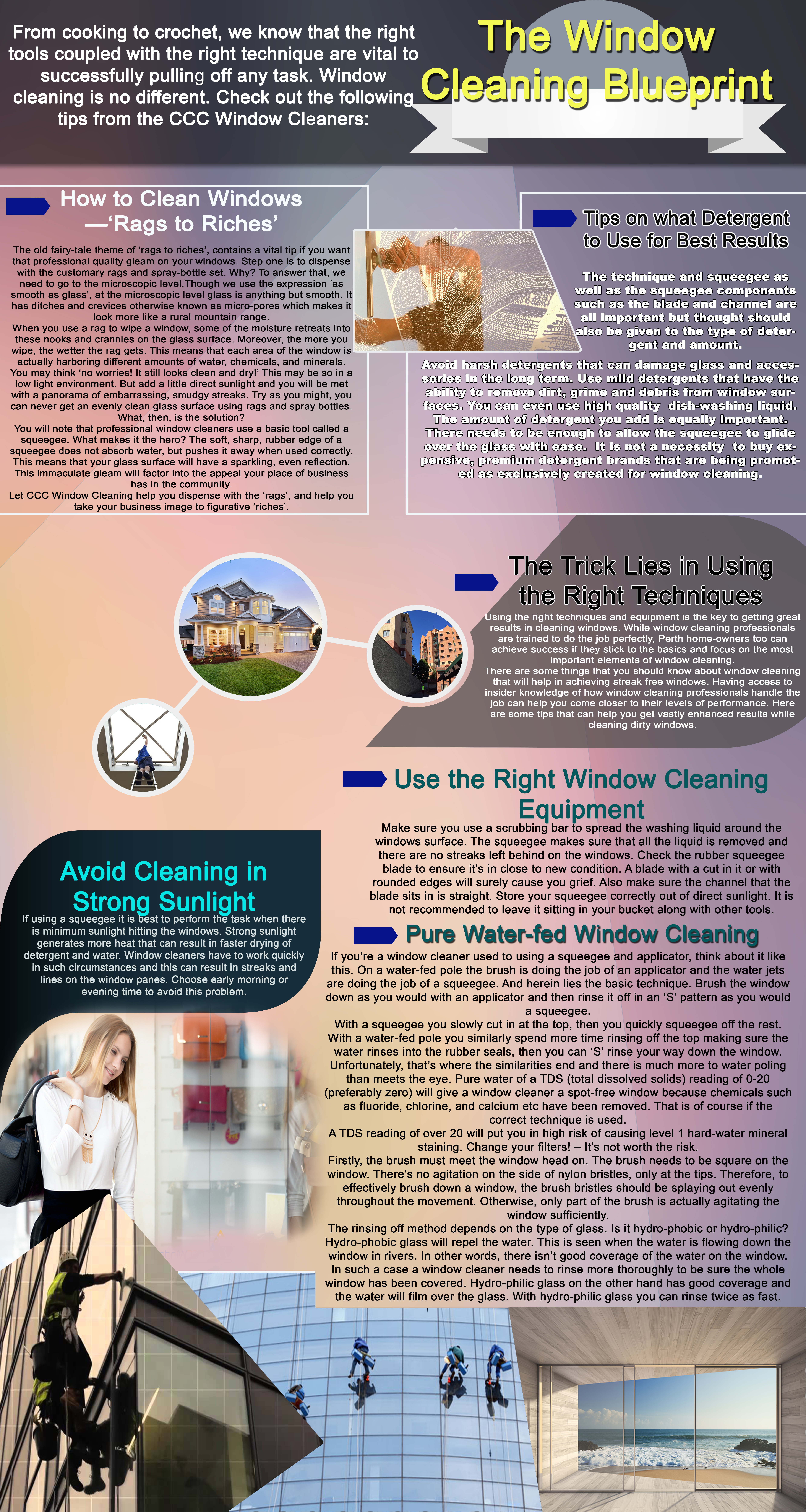 Window Cleaning Services Blueprint