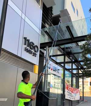 Window Cleaning Glass Roof Perth CBD