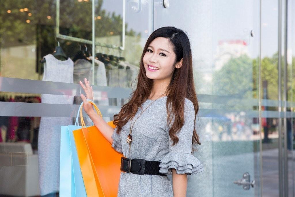 Glass shop front model
